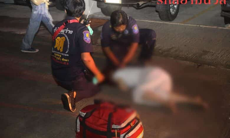Vietnamese woman dies after fifth floor fall from Pattaya. Ruk Siam News reported that police and rescue services were called after a woman was found lying