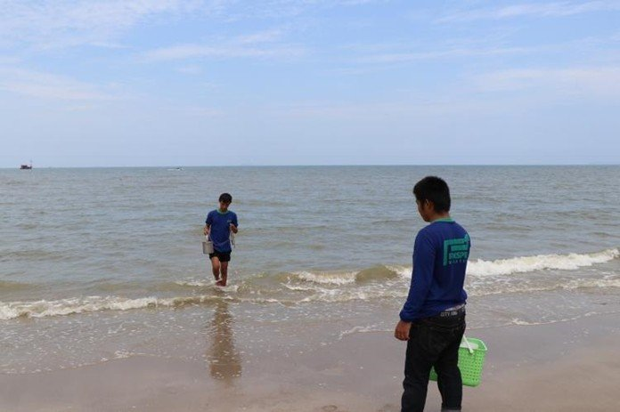 Water situation at Na Jomtien Beach improving. Following the public outcry over the discharge of untreated wastewater directly into the sea at Na Jomtien