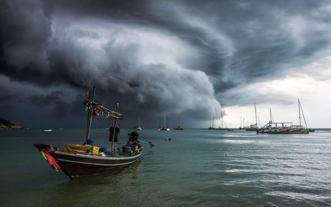 Weather warning in Thailand as monsoon season arrives