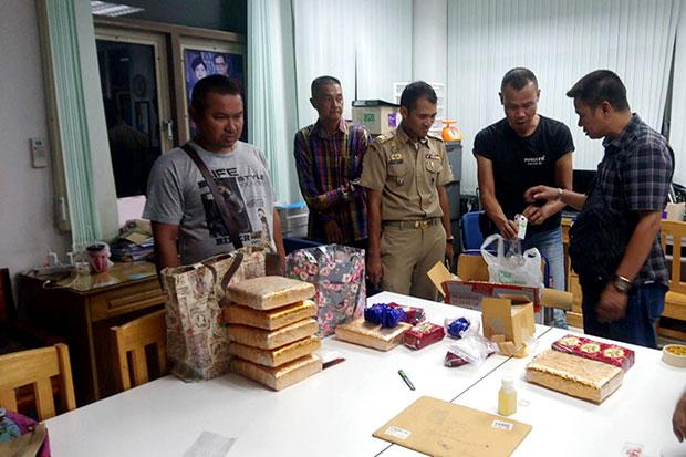 Major drugs bust at Thai hospital staff quarters