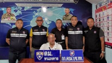 American pensioner arrested for staying in Thailand illegally. Immigration officials in Thailand have arrested a 69-year-old American for staying in