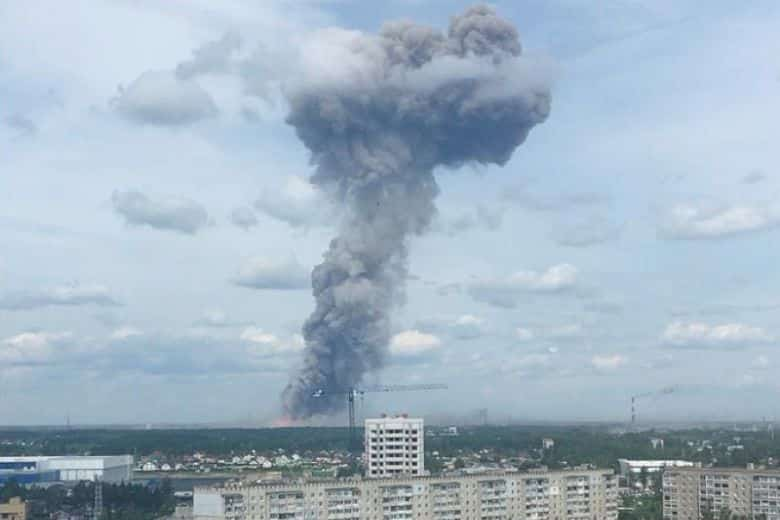 Blast at central Russia explosives plant injures 19. At least 19 people were injured in a blast at a major explosives plant in central Russia on Saturday,