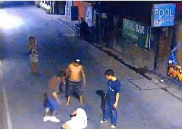 British tourist beaten unconscious by Thai thugs. Brit beaten unconscious with 'metal poles by Thai biker gang' in front of horrified wife.