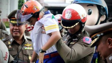 Child death toll on Thai roads runs at THREE A DAY. A leading campaigner for road safety has slammed the government and the police for abandoning