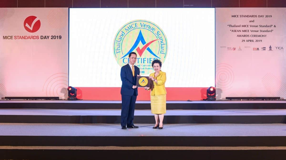 Consecutive Thailand MICE Venue Standard Recognition Awarded to Dusit Thani Pattaya