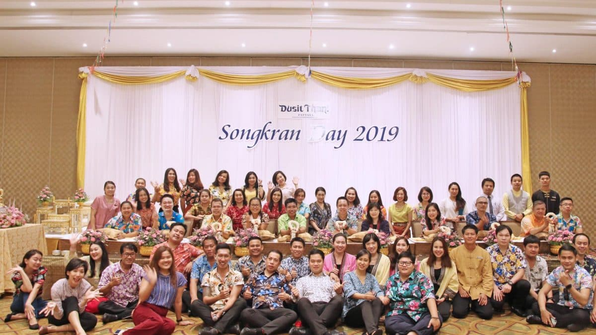 Dusit Thani Pattaya holds traditional Songkran celebration 2019