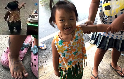Family to visit Buddhist shrine as little Thai girl miraculously escapes playing with a cobra snake. In January 2018, a little Thai girl died in her bed