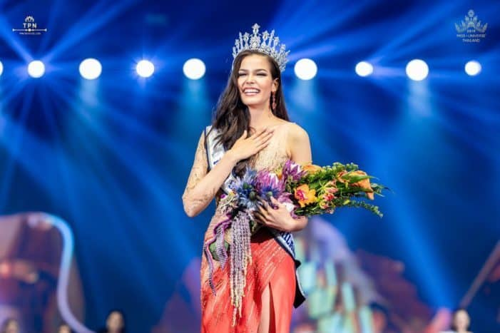 Half-Canadian 'Fahsai' is new Miss Thailand Universe