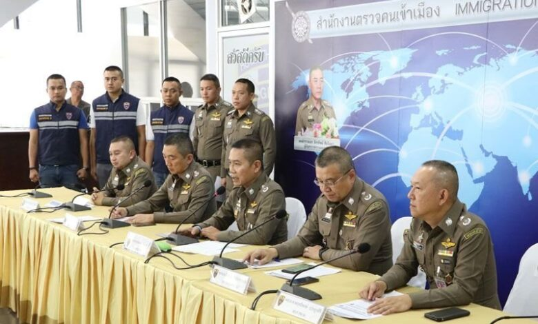Immigration chief targets 'Foreigners Behaving Badly' A press conference yesterday was headed by the man who is settling into the role as head of the Thai