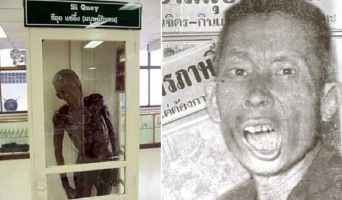 JUSTICE AT LAST? MUSEUM AMENDS DISPLAY OF ICONIC 'CANNIBAL'. A man who has haunted imaginations of Thai children for six decades may