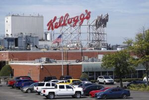 Kellogg's factory worker filmed urinating into product. A Kellogg's factory worker who filmed himself urinating onto a production line has been jailed.