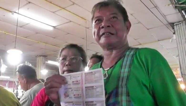 Market food vendor wins 30 Million THB. A couple had just become the latest millionaire in the Takhli District, Nakhon Sawan Province. They won 5 tickets of
