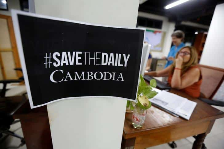 Media Summit In Cambodia With Lack Of Freedom