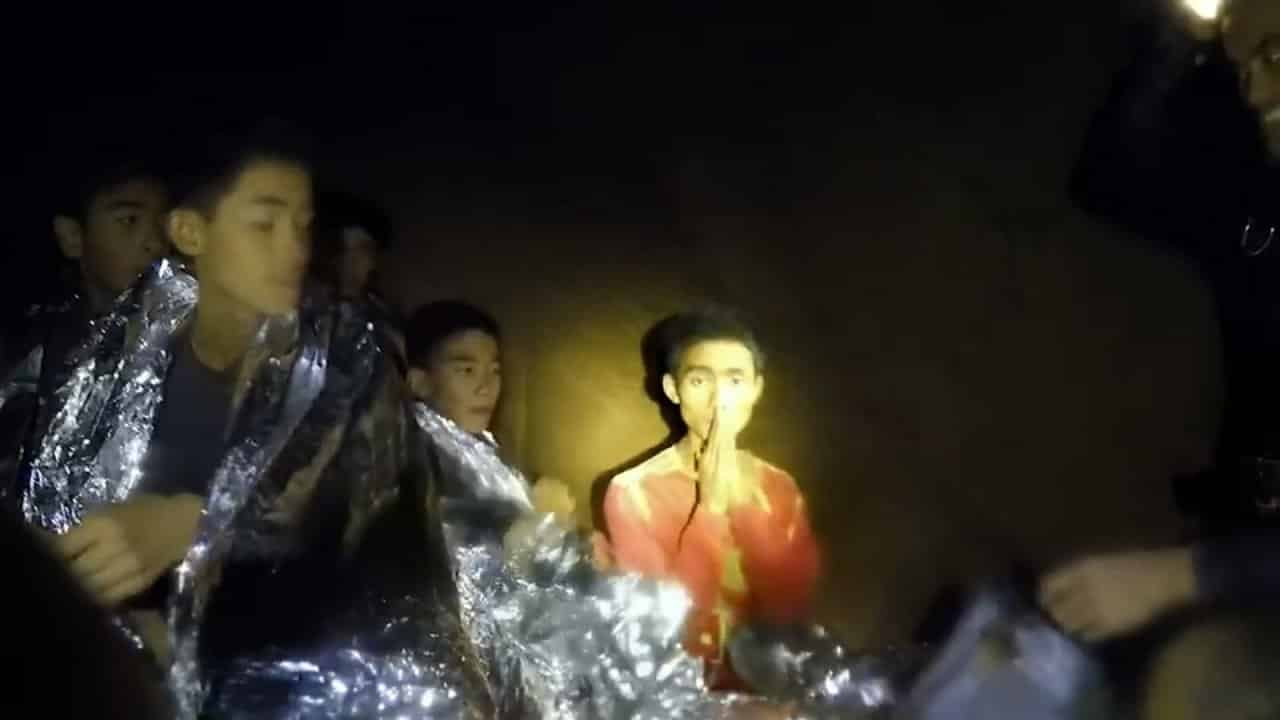 Mu Pa boy's language skills wins him top award. ADUL SAMON, one of the 12 boys who were rescued from Tham Luang Cave in Chiang Rai last year