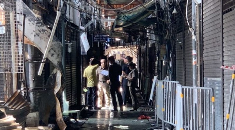 Officers probe Chatuchak market fire