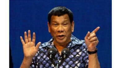 """Outrage as Philippines' Duterte says 'cured' himself of being gay. Philippine President Rodrigo Duterte has sparked outrage after claiming that he """"cured"""""""