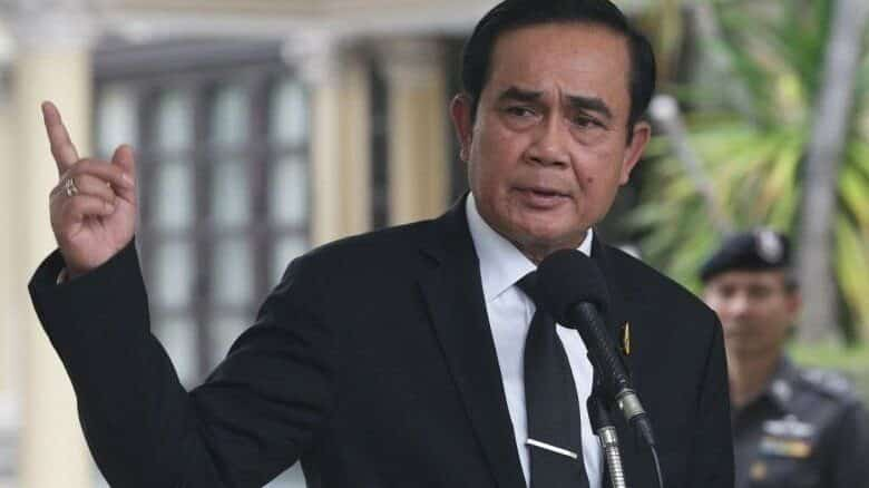 Prayut returns as prime minister. General Prayut Chan-o-cha was elected as prime minister in a Parliamentary vote late on Wednesday night after