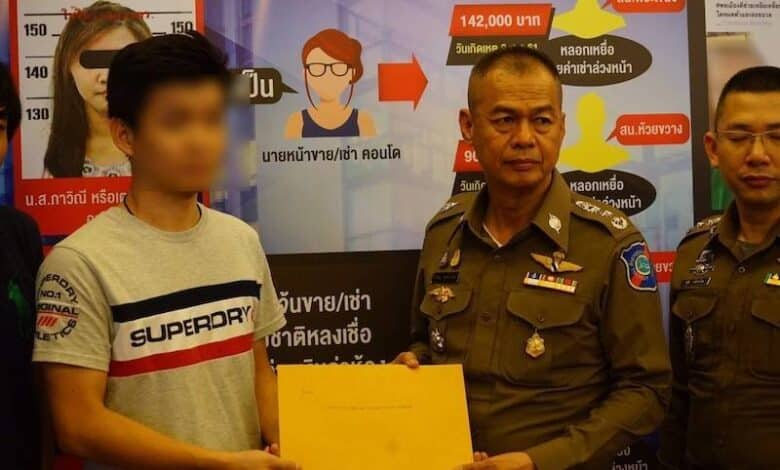 Rental agent ripping off foreign landlords is arrested. The Tourist Police Bureau reported that a Thai woman who acted as a thieving rental agent has been