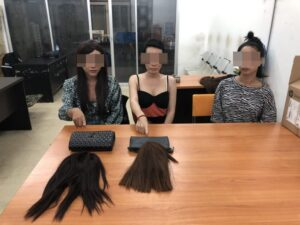 Three transgender thieves arrested by police for stealing from tourists in South Pattaya. The Pattaya News was present yesterday afternoon, June