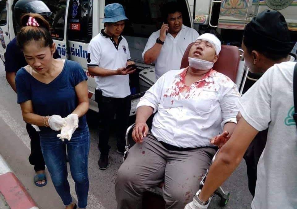 Anti-junta activist attacked for second time