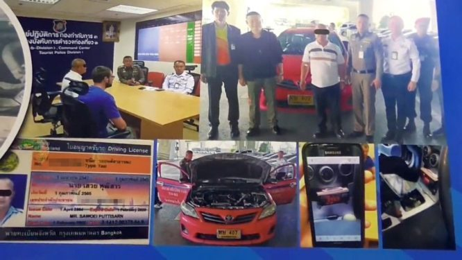 Bangkok cabbie arrested for cheating tourist of Bht 4000