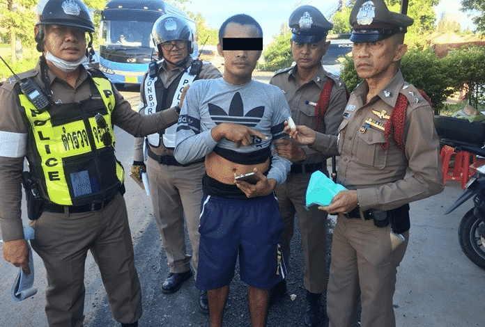 Customer Service at its finest, an arrested drug dealer asks cops to apologize to his customers for delayed orders in Jomtien