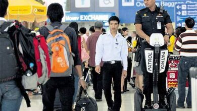 Liquids and food now BANNED from Thai airports and flights