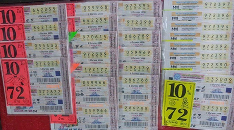 Police stealing lottery tickets from overpriced ticket seller