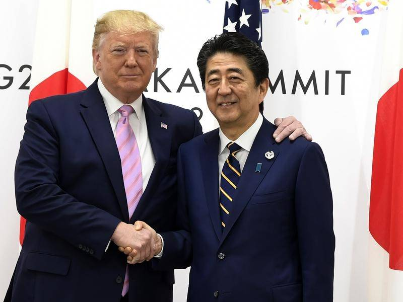 Trump arrives for a turbulent G20 meet in Japan
