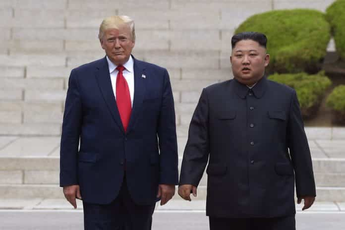 At DMZ, Step Into History for Trump as He Offers Hand to Kim