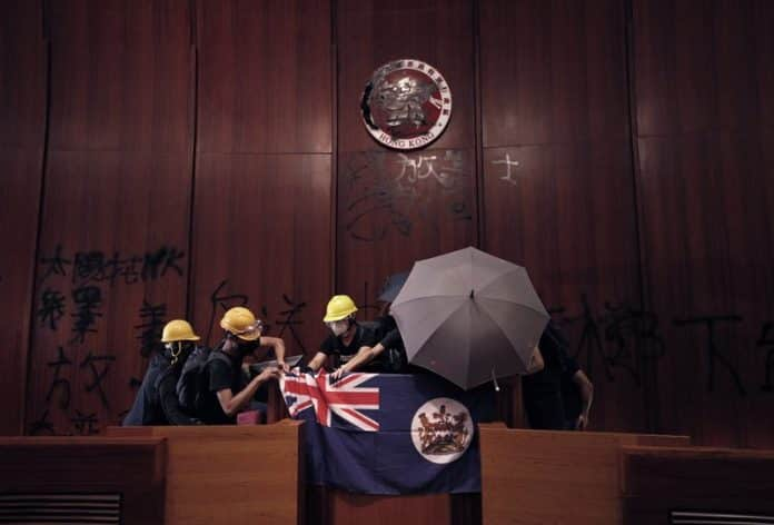 In Hong Kong, Colonial Flag Symbolizes Values and 'Good Old Days'