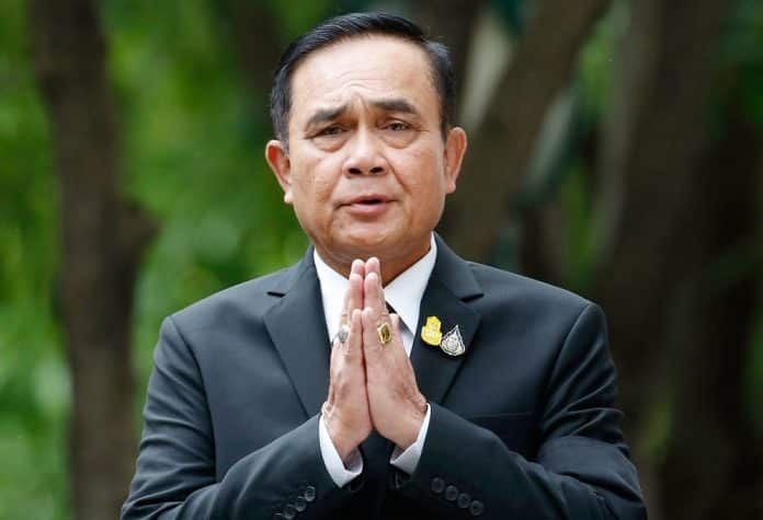 Prayuth Sorry for Cabinet Infighting
