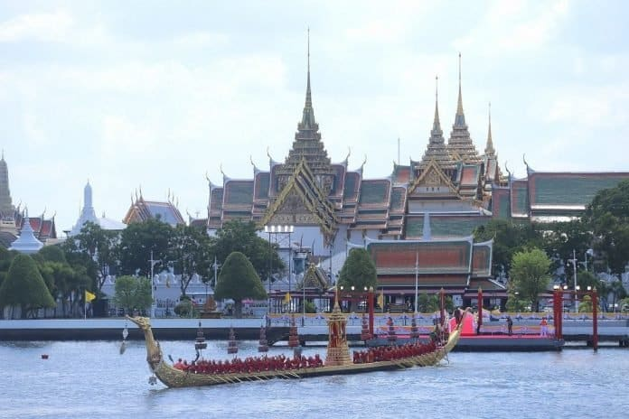 Royal Barge Procession Set for Oct. 24