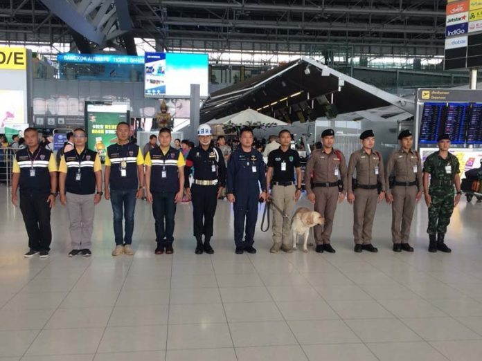 Thai Immigration officials now hunting for Overstayers at the Airport