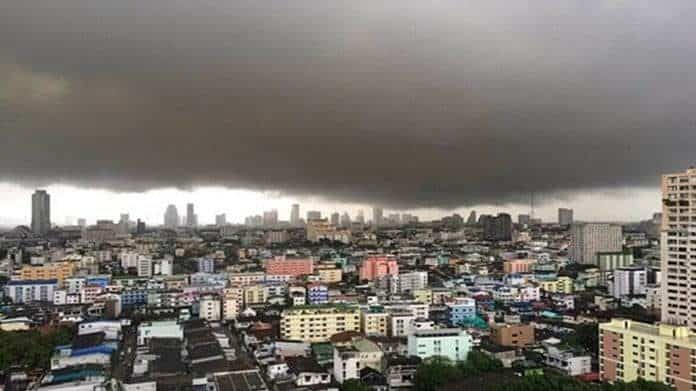 Tropical Storm 'Podul' to Shower Thailand