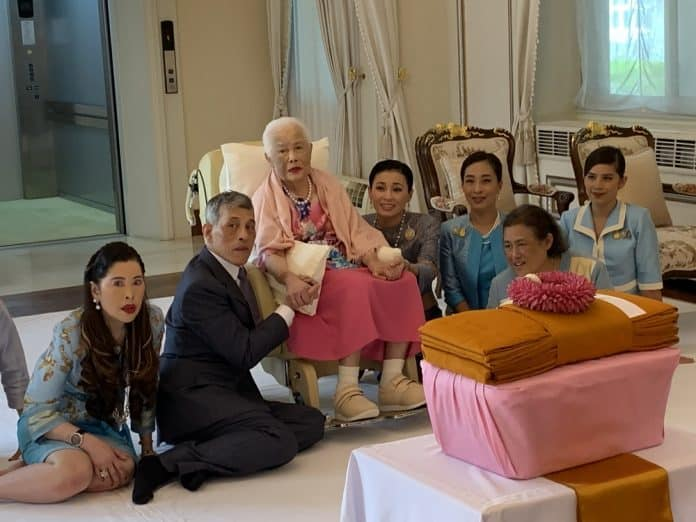 Palace Releases Photos of Queen Sirikit on 87th Birthday