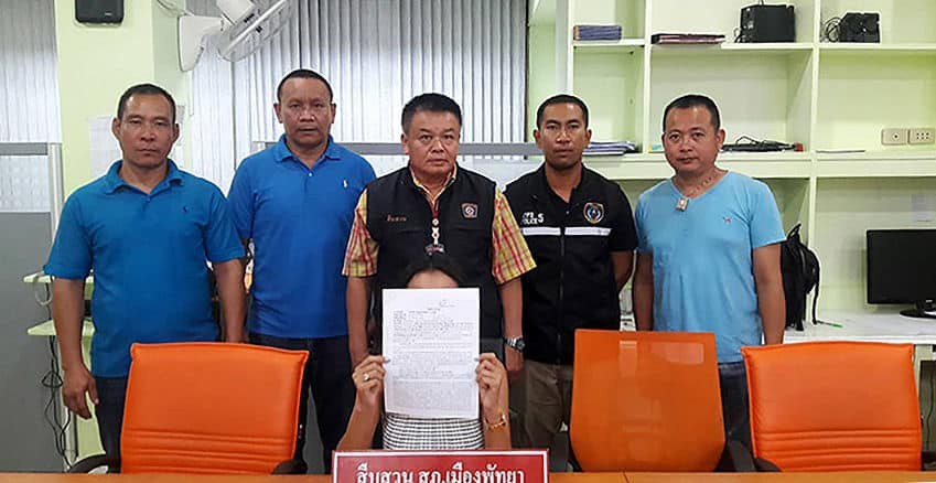 Pattaya bar owner arrested on human trafficking and prostitution charges