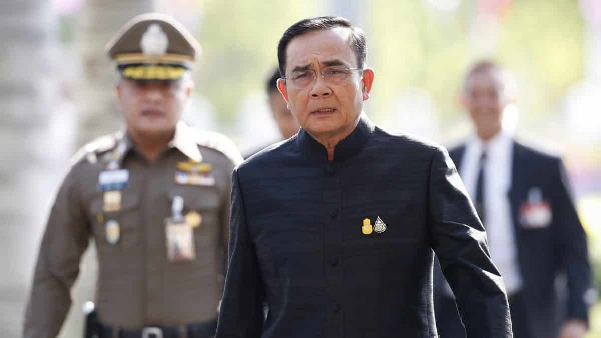 Prayuth wants MILITARY SUPPORT for his government