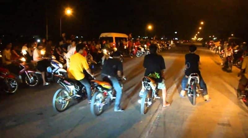Reward for info on motorcycle racers