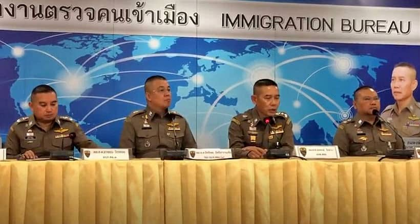 South Korean fugitive arrested in Chon Buri, and two other immigration cases