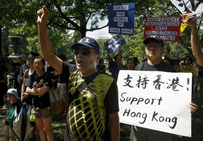 Twitter Shuts Chinese 'Fake Accounts' Targeting HK Protests