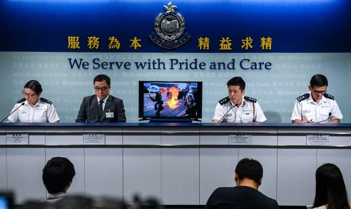 2,200 Police, Their Families Doxxed in Hong Kong Unrest