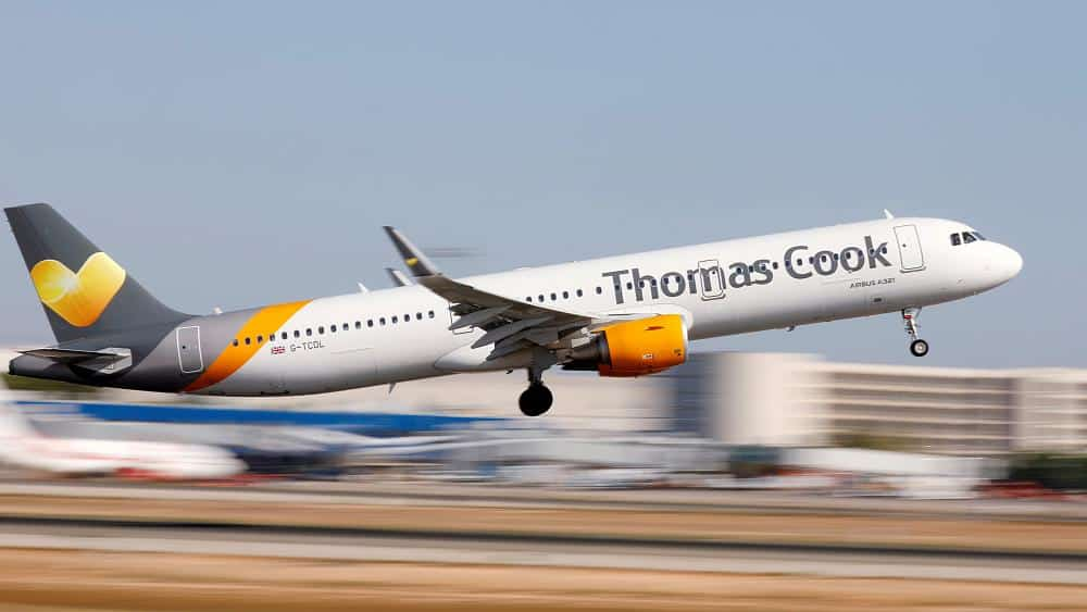 British travel firm Thomas Cook collapses, stranding hundreds of thousands