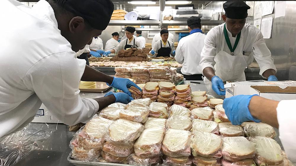 Celebrity cruise ship reroutes in Bahamas to deliver food, aid after Dorian