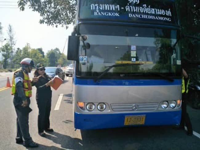 DLT to inspect public transport every 90km
