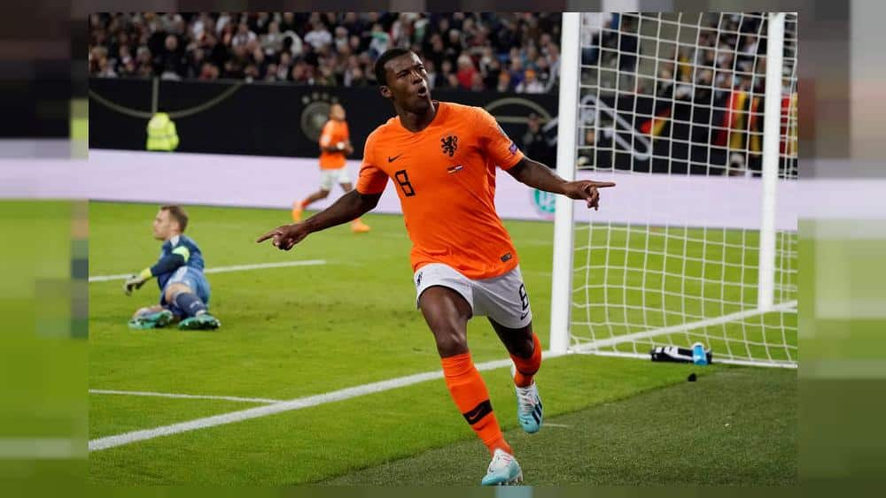 Euro 2020 qualifying: Netherlands shock Germany in topsy-turvy 4-2 win
