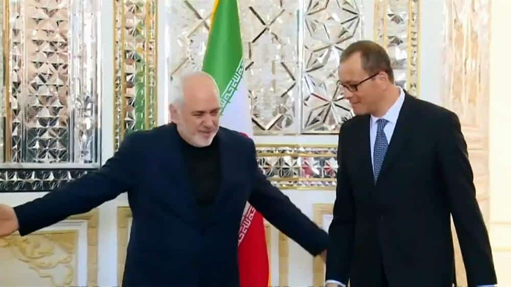 Iran meets the UN's nuclear watchdog and claims the EU has failed the country