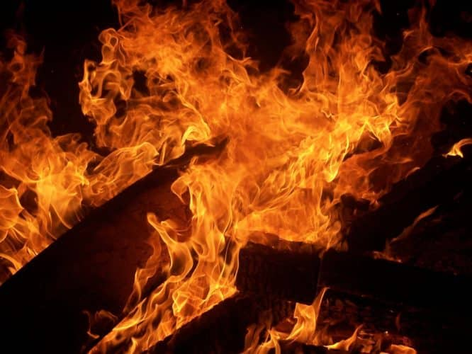 Man seriously injured after burning his own house down