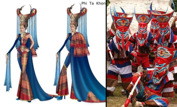 Miss Universe Thailand to Represent Isaan Festival with 'Phi Ta Khon' Costume