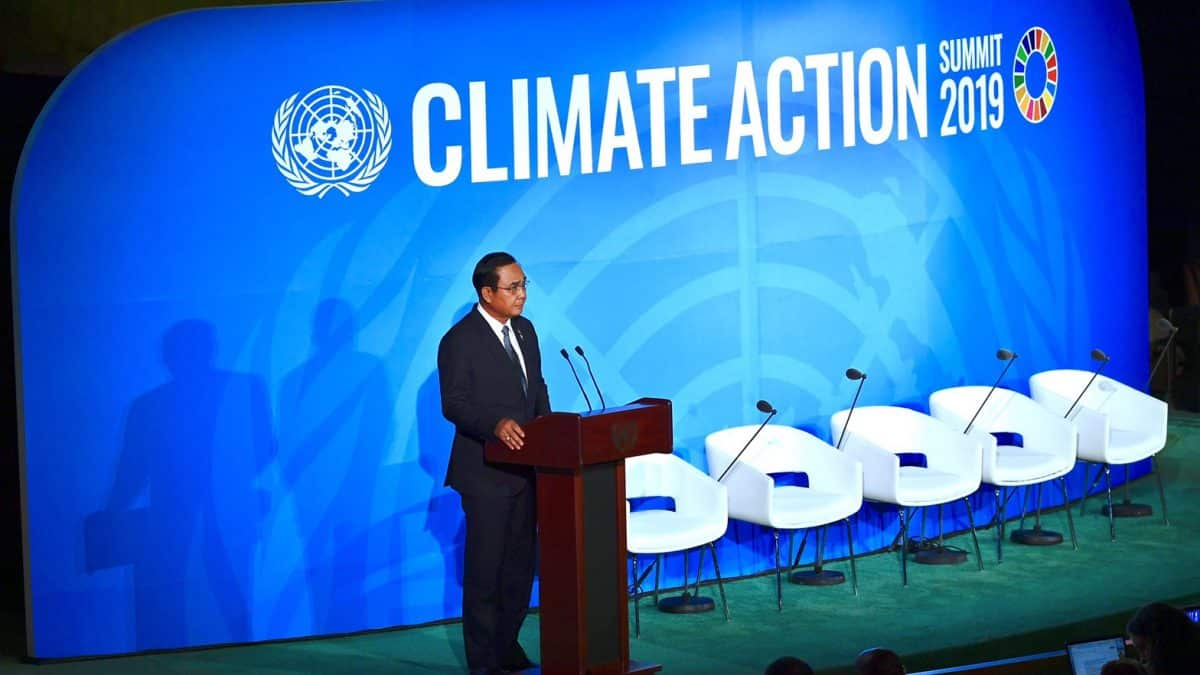 PM Prayut reaffirms ASEAN's active role in tackling climate change